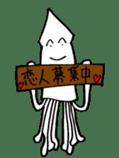 oceandakuto of Bodacious  Mr.Squid sticker #2098684