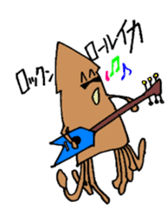 oceandakuto of Bodacious  Mr.Squid sticker #2098689