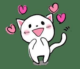 Cat likes Japanese idol sticker #2099605
