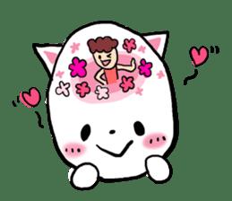 Cat likes Japanese idol sticker #2099606