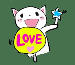 Cat likes Japanese idol sticker #2099607