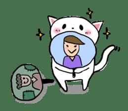 Cat likes Japanese idol sticker #2099612