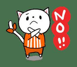 Cat likes Japanese idol sticker #2099614