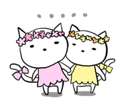 Cat likes Japanese idol sticker #2099632