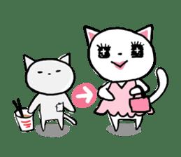 Cat likes Japanese idol sticker #2099635