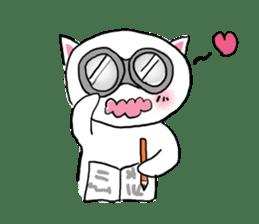 Cat likes Japanese idol sticker #2099637