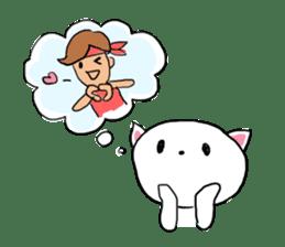 Cat likes Japanese idol sticker #2099641