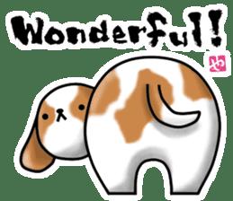 HIP ANIMALS English ver. sticker #2100942