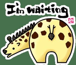 HIP ANIMALS English ver. sticker #2100949