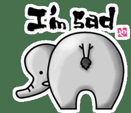 HIP ANIMALS English ver. sticker #2100971