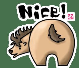 HIP ANIMALS English ver. sticker #2100974