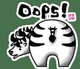 HIP ANIMALS English ver. sticker #2100975