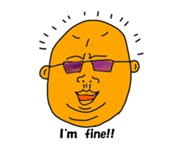 Colorful uncles sticker #2101348