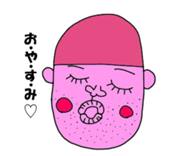 Colorful uncles sticker #2101355