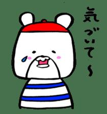 Bear Cafe sticker #2102002
