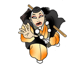 Welcome to the world of Kabuki![ENG] sticker #2102064