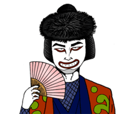 Welcome to the world of Kabuki![ENG] sticker #2102073