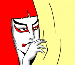 Welcome to the world of Kabuki![ENG] sticker #2102078