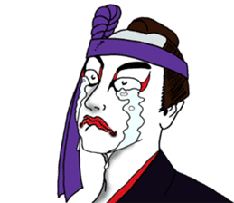 Welcome to the world of Kabuki![ENG] sticker #2102088