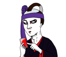 Welcome to the world of Kabuki![ENG] sticker #2102097