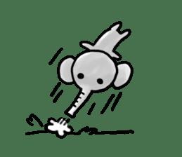 Boy elephant sticker #2102341