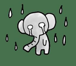 Boy elephant sticker #2102348
