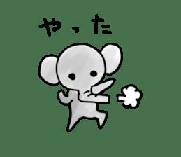 Boy elephant sticker #2102350