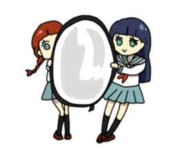 Weekend of cosplayers Reiko sticker #2103449