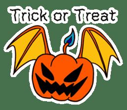Halloween Sticker in English sticker #2103781