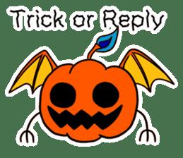 Halloween Sticker in English sticker #2103782
