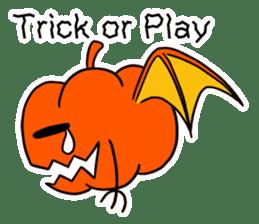 Halloween Sticker in English sticker #2103783