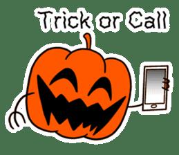 Halloween Sticker in English sticker #2103784