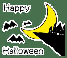 Halloween Sticker in English sticker #2103785