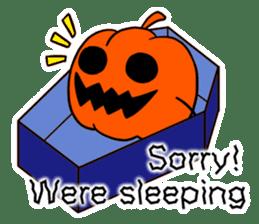 Halloween Sticker in English sticker #2103790