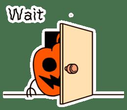 Halloween Sticker in English sticker #2103793