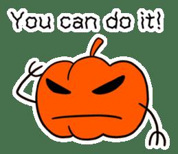 Halloween Sticker in English sticker #2103795