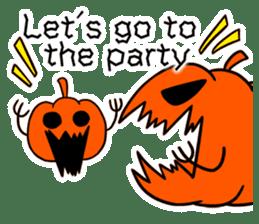 Halloween Sticker in English sticker #2103796