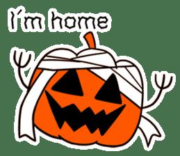 Halloween Sticker in English sticker #2103797