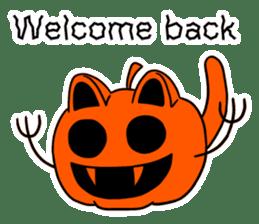 Halloween Sticker in English sticker #2103798