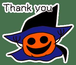 Halloween Sticker in English sticker #2103799