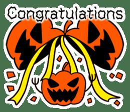 Halloween Sticker in English sticker #2103800