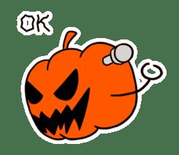 Halloween Sticker in English sticker #2103805