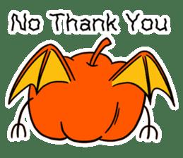 Halloween Sticker in English sticker #2103806
