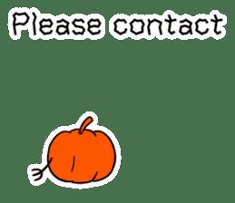 Halloween Sticker in English sticker #2103808