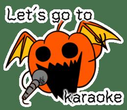 Halloween Sticker in English sticker #2103812