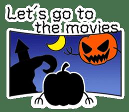 Halloween Sticker in English sticker #2103813