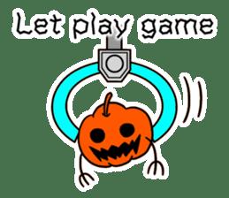 Halloween Sticker in English sticker #2103815