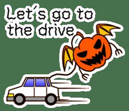 Halloween Sticker in English sticker #2103817