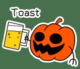 Halloween Sticker in English sticker #2103818