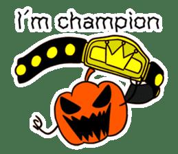 Halloween Sticker in English sticker #2103819